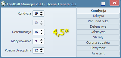 Football Manager 2012/2013 - Ocena Trenera